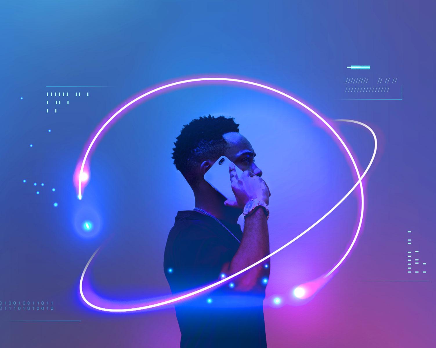 black-man-talking-on-his-mobile-phone-ZLRYGND